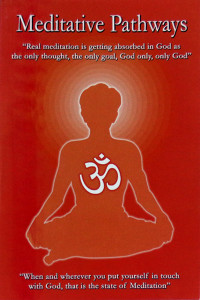 MEDITATIVE PATHWAYS by Cheruvu S. Murthy Sathya Sai Book Store Tustin