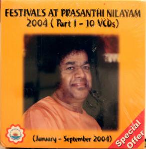 FESTIVALS AT PRASHANTHI NILAYAM - 13VCD'S