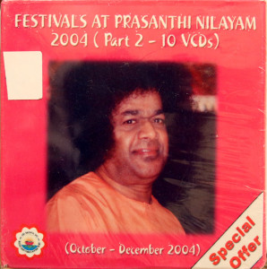FESTIVALS @ PRASANTI NILAYAM..OCT-DEC.2004 PART 2